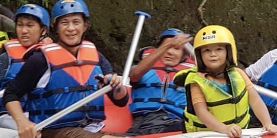 Rafting at Sonder