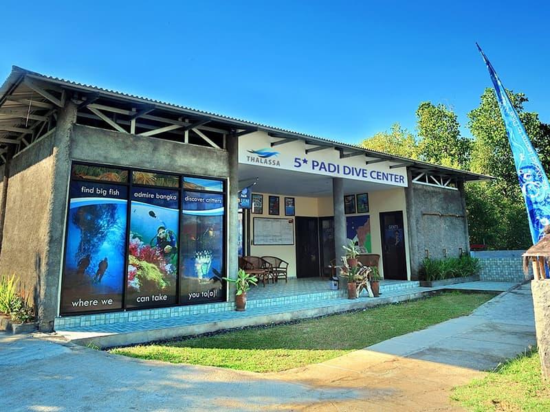 Dive Center at Thalassa Manado