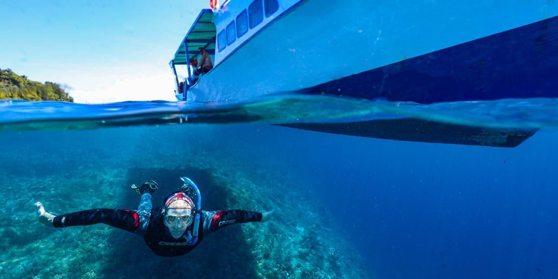 Snorkeling in Bunaken Marine Park