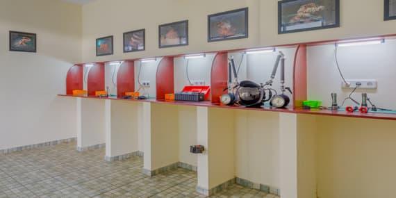 Camera room at Thalassa Manado